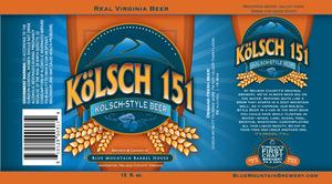 Blue Mountain Barrel House Kolsch 151