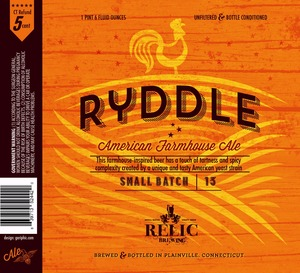 Relic Brewing Ryddle