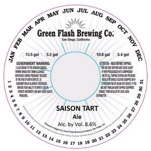 Green Flash Brewing Company Saison Tart