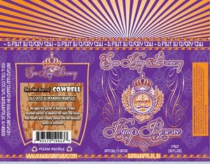 Sun King Brewery Bourbon Barrel Cowbell