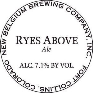 Ryes Above May 2013