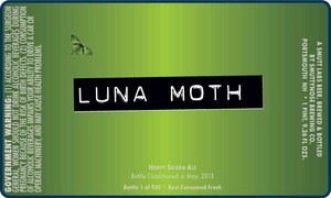 Smuttynose Brewing Co. Luna Moth
