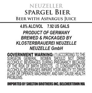 Neuzeller Spargel Bier