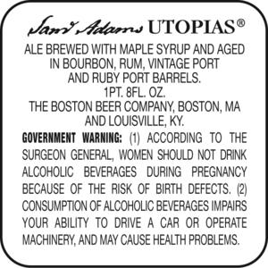 Sam Adams Utopias