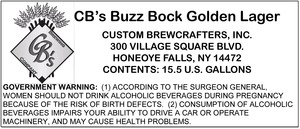 Cb's Buzz Bock