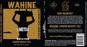 Wahine Lemon Wheat Ale