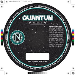 Ninkasi Brewing Company Quantum