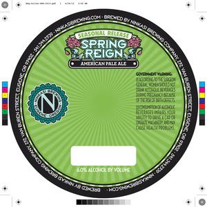 Ninkasi Brewing Company Spring Reign