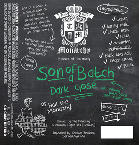 The Monarchy Son Of A Batch