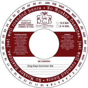 Dog Days Summer Ale