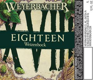 Weyerbacher Xviii