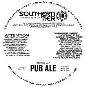 Southern Tier Brewing Company Pub Ale