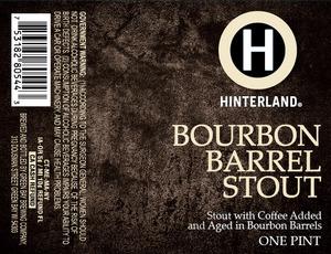 Hinterland Bourbon Barrell Stout