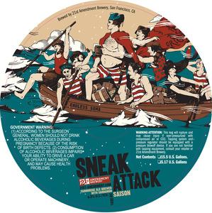 21st Amendment Brewery Sneak Attack Saison
