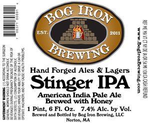 Bog Iron Brewing Stinger IPA