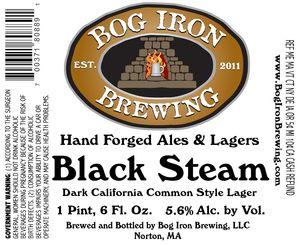 Bog Iron Brewing Black Steam