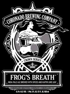 Coronado Brewing Company Frog's Breath