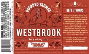 "Westbrook Brewing Company Bearded Farmer ""thomas"""