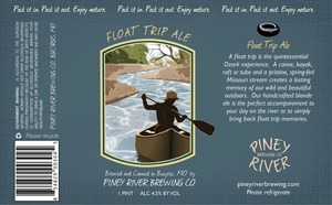 Piney River Brewing Co. LLC Float Trip