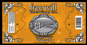 Free Will Community Kolsch May 2013