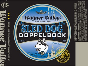 Wagner Valley Brewing Co. Sled Dog May 2013