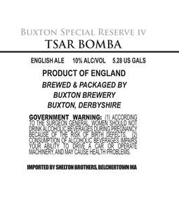 Buxton Brewery Tsar Bomba May 2013