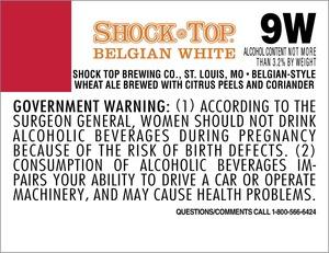 Shock Top Belgian White May 2013