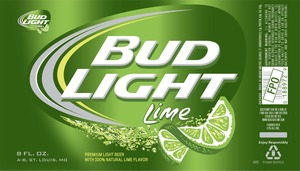 Bud Light Lime May 2013