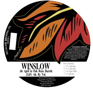 Allagash Brewing Company Winslow