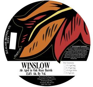 Allagash Brewing Company Winslow May 2013