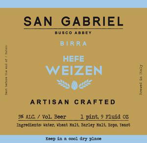 San Gabriel Hefe Weizen