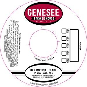 Genesee Brew House Oak Imperial Black India Pale Ale