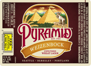 Pyramid Weizenbock May 2013
