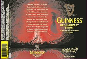Guinness Red Harvest May 2013