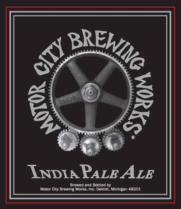 Motor City Brewing Works India Pale Ale May 2013
