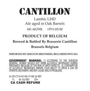 Cantillon Lambic Lhd May 2013