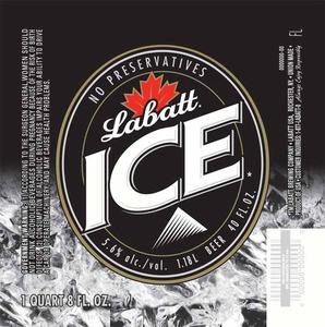 Labatt Ice May 2013