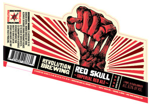 Revolution Brewing Red Skull May 2013