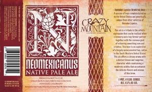 Crazy Mountain Neomexicanus May 2013