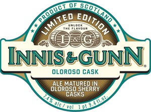 Innis & Gunn Oloroso Cask May 2013