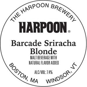 Harpoon Barcade Sriracha Blonde
