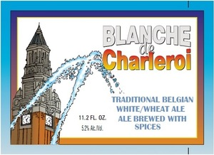 Blanche De Charleroi Traditional Belgian White/wheat Ale May 2013