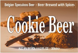 Cookie Beer Belgian Speculoos Beer