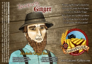 Rumspringa Brewing Company Jakey's Ginger