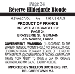 Page 24 Reserve Hildegarde Blonde May 2013