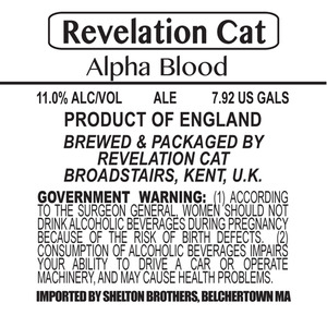Revelation Cat Alpha Blood