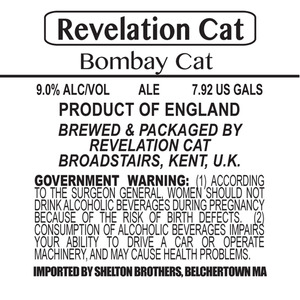 Revelation Cat Bombay Cat