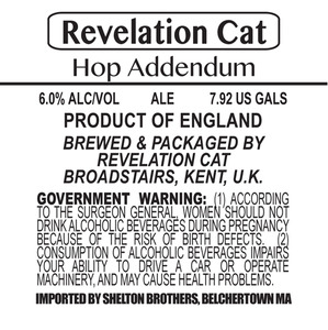 Revelation Cat Hop Addendum