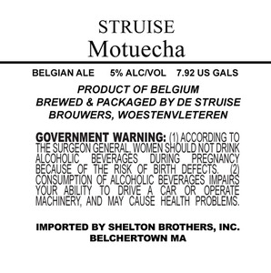 Struise Motuecha May 2013