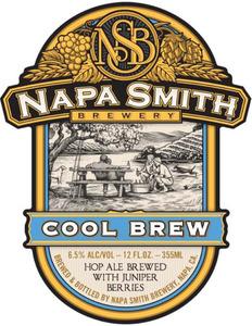 Napa Smith Brewery Cool Brew May 2013